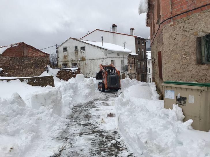 Orea reclama la declaración de zona catastrófica tras el último temporal de nieve