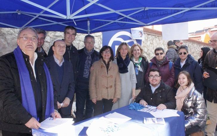 """Guarinos califica como """"excelente"""" el inicio de la campaña de recogida de firmas a favor de la Prisión Permanente Revisable"""