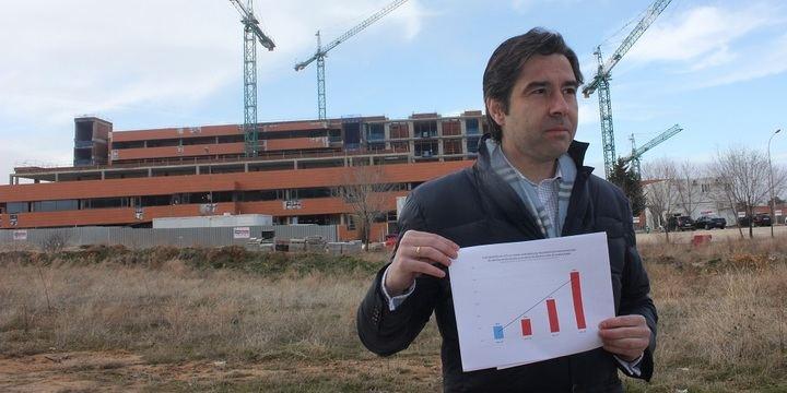 """Robisco: """"Page condena a una de cada siete familias de Guadalajara a la pesadilla de las listas de espera en el Hospital"""""""