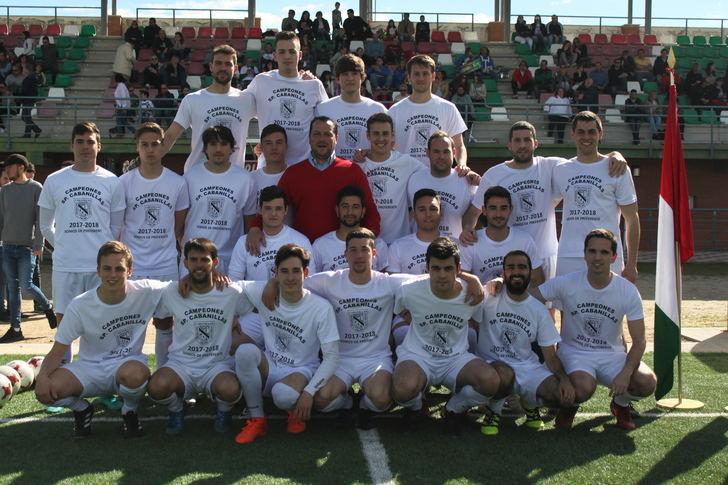 Reconocimiento este sábado al Sporting Cabanillas por su ascenso