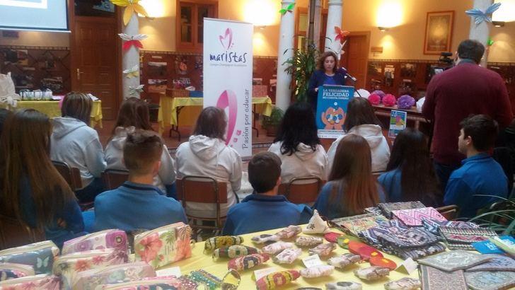 Verónica Renales destaca el valor social de la XX Semana Solidaria del colegio Maristas