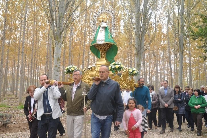 """La """"Virgen dela Granja"""" hermana a Yunquera de Henares y Heras de Ayuso en la festividad de """"San Cleto"""" 2018"""