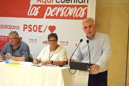 Los socialistas deciden que José Luis Vega, alcalde de Mondéjar, sea el nuevo presidente de la Diputación de Guadalajara