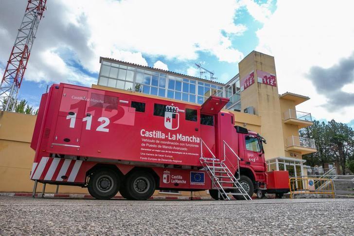 Evacuados 23 menores y 3 monitores de un albergue de Mazarete cercano al accidente del camión de combustible
