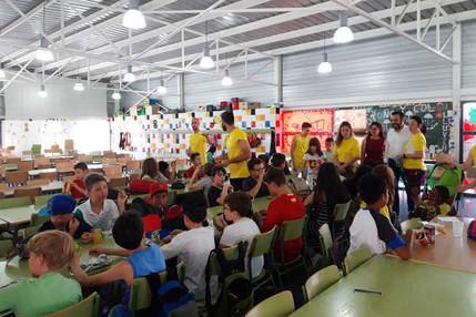 El campamento urbano del colegio La Paloma de Azuqueca sigue admitiendo nuevas incorporaciones