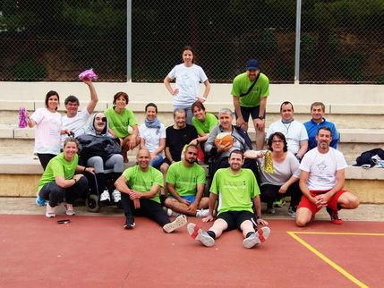 Los pacientes de la Unidad de Daño Cerebral de Guadalajara mejoran sus capacidades mediante la práctica deportiva