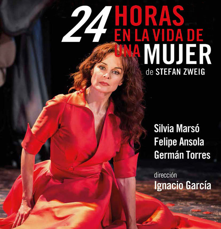 """Vuelve el teatro con mayúsculas al TABV de Guadalajara con """"24 horas en la vida de una mujer"""""""
