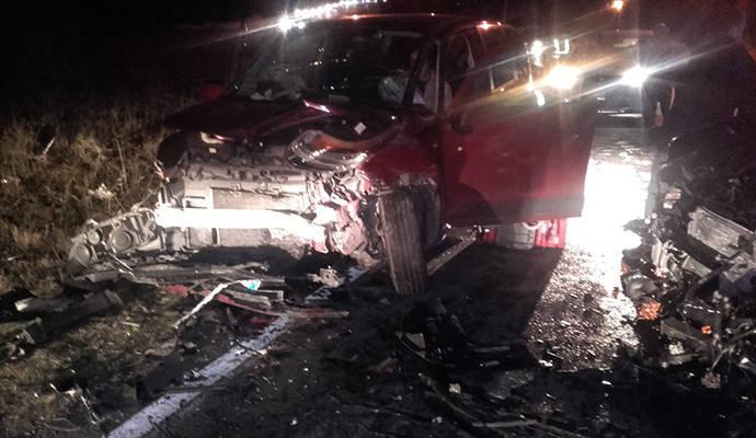 Dos personas atrapadas en su vehículo a causa de un accidente en El Casar