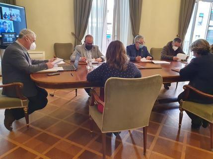 Los Grupos de Acción Local seguirán colaborando con la Diputación de Guadalajara en la gestión de ayudas a negocios rurales y sector primario