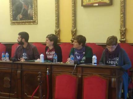 Ahora Guadalajara denuncia que el PP y Ciudadanos y Ciudadanos se niegan a apoyar la Huelga Feminista del 8 de marzo