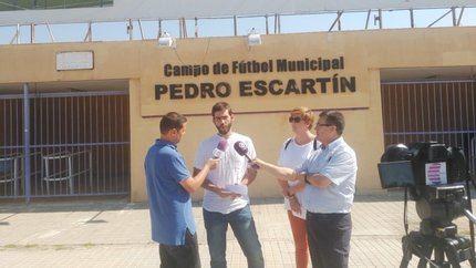 Ahora Guadalajara plantea el 'maximizar' el uso del campo 'Pedro Escartín'