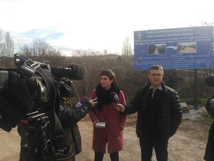 """Ahora Guadalajara pide la paralización de las obras de la ribera del Henares por sus """"graves"""" consecuencias económicas y medioambientales"""