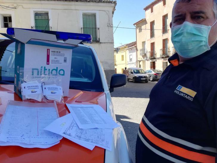 Albalate de Zorita muestra su carácter solidario ante la crisis sanitaria del coronavirus