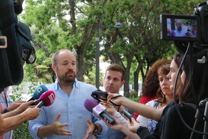 """Alejandro Ruiz (Cs) : """"Les pido a los guadalajareños que apuesten por un proyecto que incluye propuestas realizables y no promesas electorales"""""""