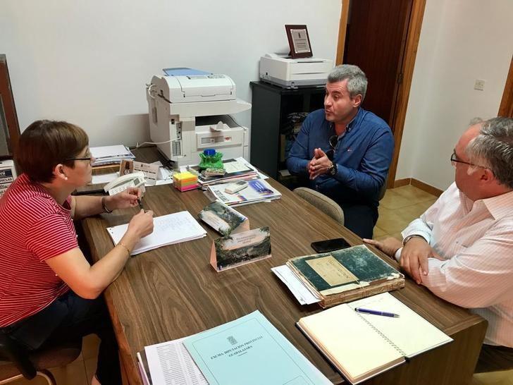 """Alfonso Esteban (PP) inicia una ronda de visitas """"pueblo a pueblo"""" para conocer de primera mano sus necesidades en Guadalajara"""