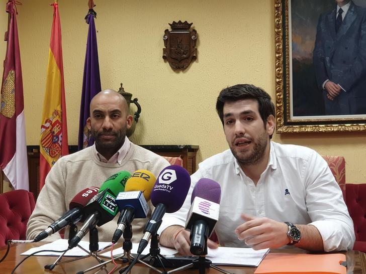 """El PP muestra su preocupación por la """"incapacidad"""" del socialista Alberto Rojo que sigue gobernando con el presupuesto de 2018 del Ayuntamiento de Guadalajara"""