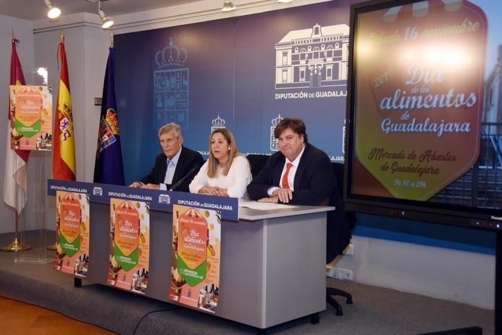 Diputación y COAGRAL promocionan este sábado los Alimentos de Guadalajara en el Mercado de Abastos