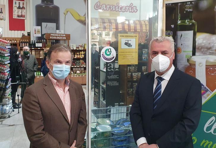 Diputación y APAG crean un distintivo para establecimientos que ofrecen al consumidor 'Alimentos de Guadalajara'