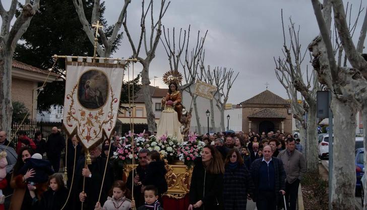 Alovera arrancó sus fiestas más tradicionales de la Virgen de la Paz