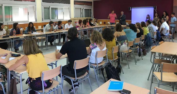 Centros educativos de la provincia de Guadalajara conocen la metodología innovadora aplicada por el profesorado del IESO de Alovera