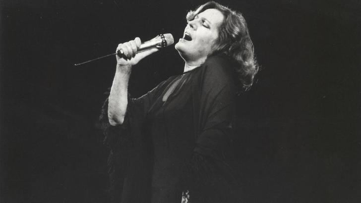 Amalia Rodrigues en el Teatro Real el 26 de septiembre