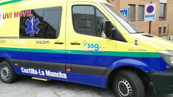 Hospitalizado un niño de 10 años que se ha caído de un balcón en Torija