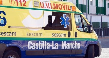 Diez vehículos implicados y un herido en una colisión causada por una granizada en Albacete