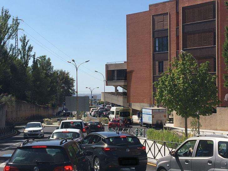 Siguen los atascos en el Hospital de Guadalajara