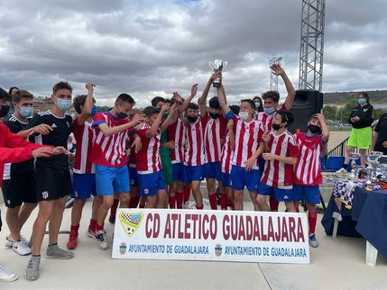 62 partidos en el VI Torneo Atlético Fútbol Base en Guadalajara