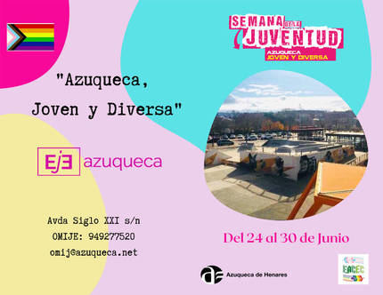 Azuqueca celebra la Semana de la Juventud del 24 al 30 de junio