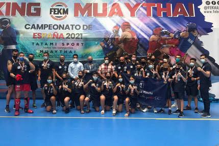 Celebrados en Azuqueca los Campeonatos de España de Kickboxing y Muaythai
