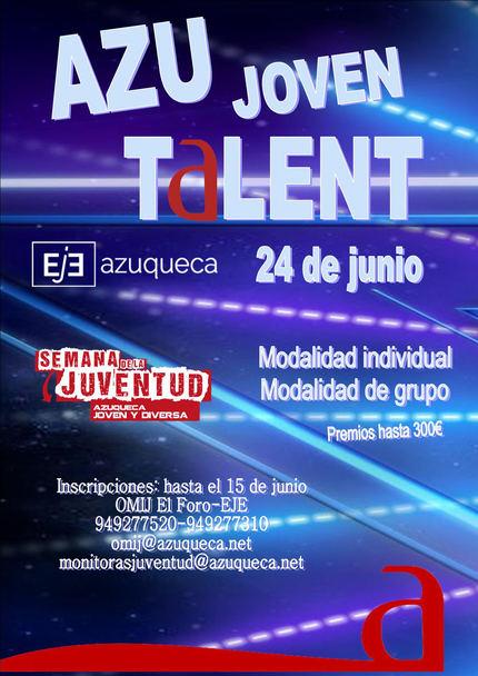 Abierta la inscripción en el concurso 'Azu Joven Talent'