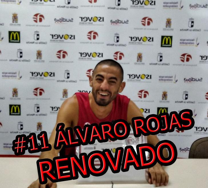 Álvaro Rojas renueva un año más con el Isover Basket Azuqueca en LEB Plata
