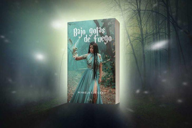 'Bajo gotas de fuego', una novela de fantasía épica que une aventura, intriga y romance