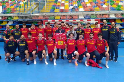 La Selección de España de Balonmano Juvenil, concentrada en Azuqueca