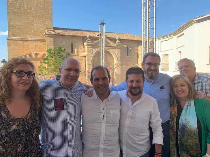 """Bellido dice que Torrecilla es """"una referencia en la defensa de los intereses hídricos de la Castilla‐La Mancha"""""""