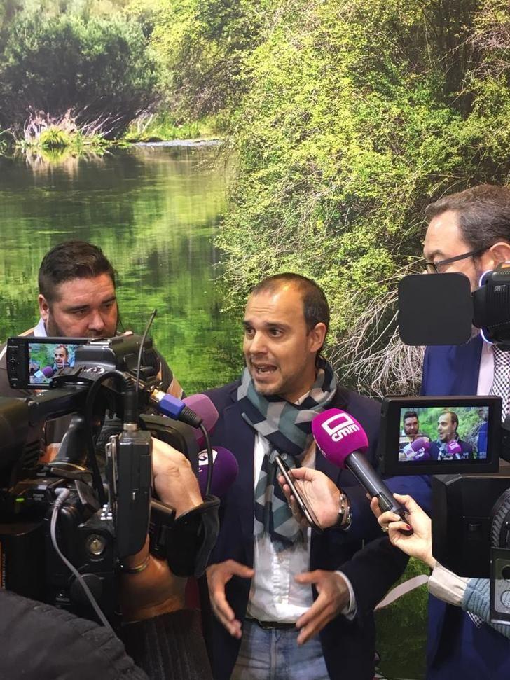 Bellido destaca en Fitur que Castilla-La Mancha es región líder en materia de turismo por la alianza del Gobierno de García-Page con el sector