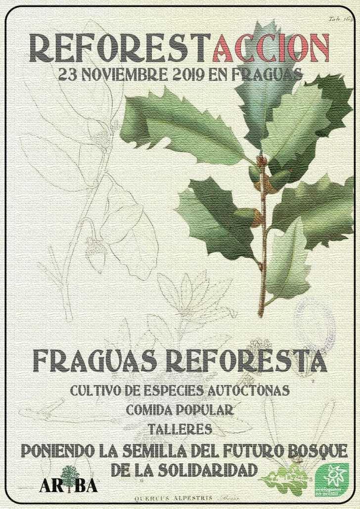 ARBA y Ecologistas en Acción organizan una plantación de bellotas en Fraguas