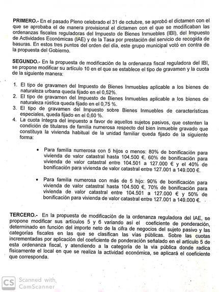 """""""José Luis Blanco decide definitivamente sangrar a los contribuyentes"""" de Azuqueca"""