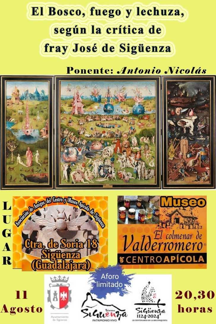 Este martes comienzan las I Jornadas Culturales de la Asociación de Amigos del Centro y Museo Apícola de Sigüenza