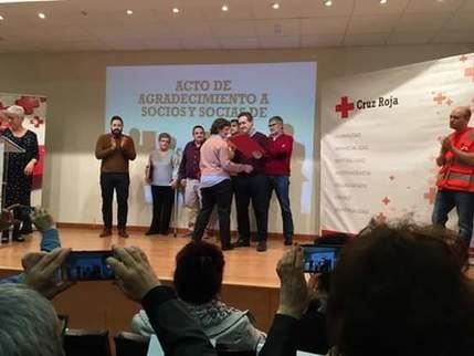 Homenaje de Cruz Roja a socios y voluntarios en Brihuega