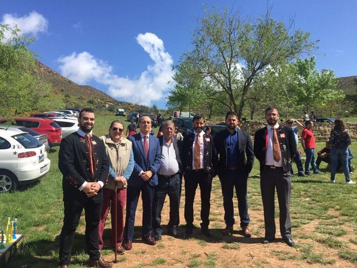 El subdelegado del Gobierno,Juan Pablo Sánchez Sánchez-Seco, asiste a La Caballada de Atienza