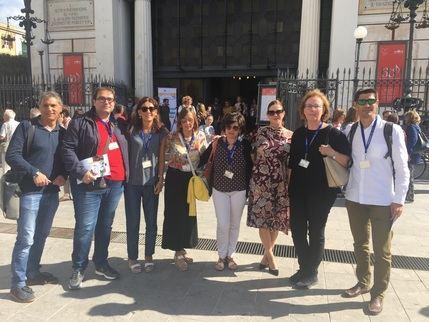 Docentes de Los Olivos de Cabanillas visitan Sicilia dentro del proyecto Erasmus Plus