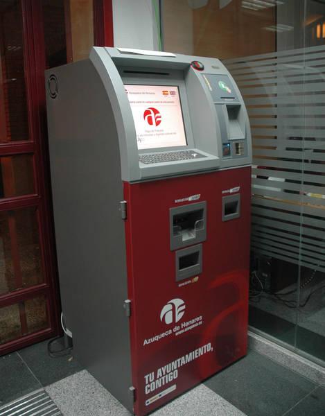 El Ayuntamiento de Azuqueca va a incorporar cuatro nuevos cajeros ciudadanos con fondos FEDER