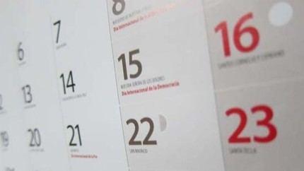 Aprobado el calendario laboral de 2022 en C-LM, que mueve al lunes 26 de diciembre el festivo correspondiente a Navidad