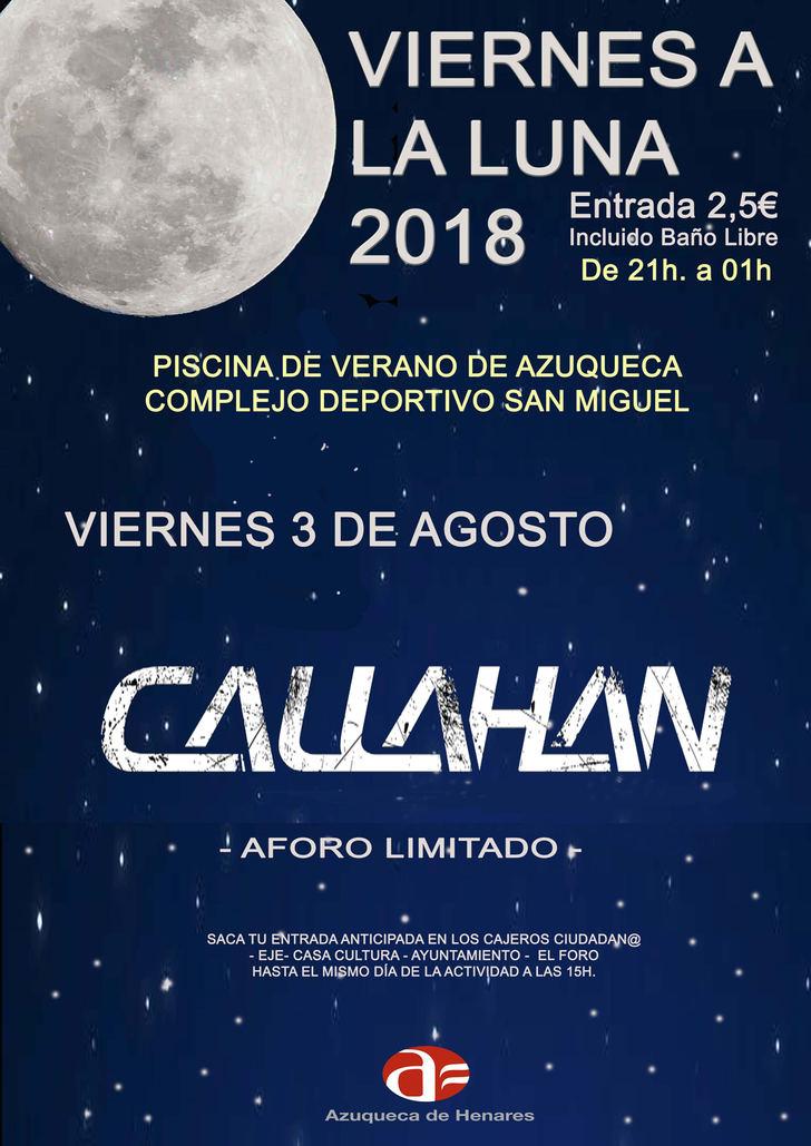 El programa 'Viernes a la luna' se despide con un concierto del grupo local 'Callahan' en Azuqueca