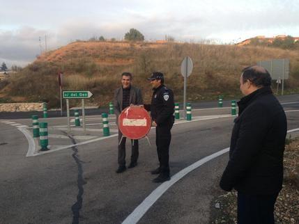 Antonio Román ha procedido a la apertura de la calle del GEO de Guadalajara