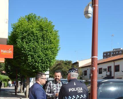 Comienza la instalación de cámaras en varias calles de Azuqueca