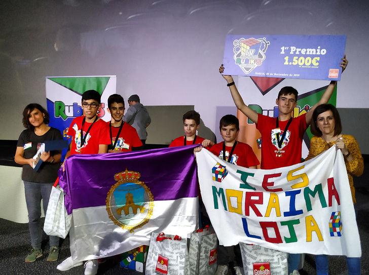 El instituto manchego IES Profesor Domínguez Ortiz, finalista del IV Campeonato Interescolar del Cubo Rubik's