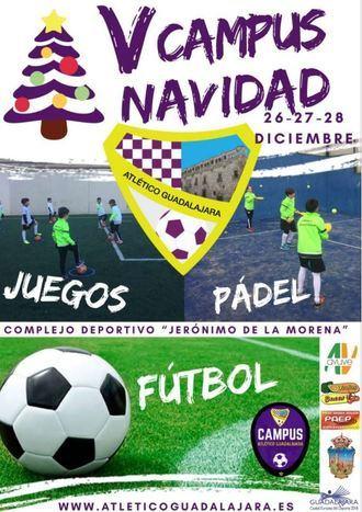 Inscripciones abiertas para el V Campus de Navidad del Atlético Guadalajara